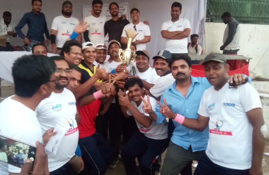 Photo of दुसऱ्या डॉक्टर्स क्रिकेट लीग स्पर्धेत JDA SPARTAN ठरली