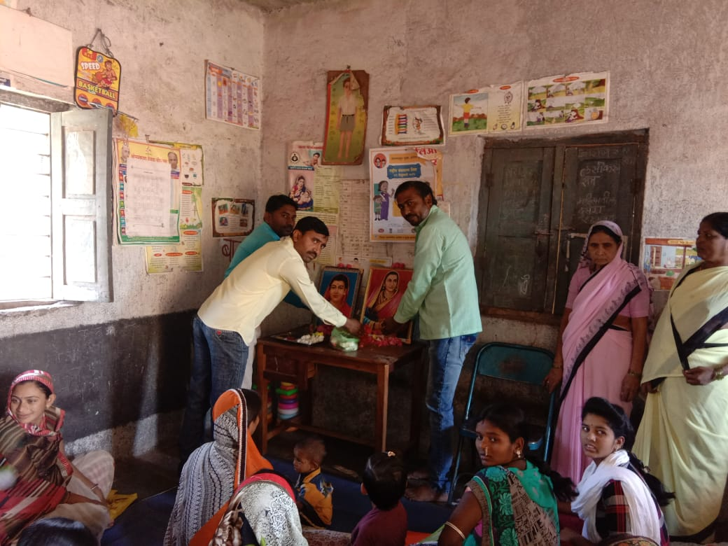 Photo of प्राथमिक आरोग्य केंद्र येलदृरी अंतर्गत मौजे सावली येथे महिला दिन साजरा