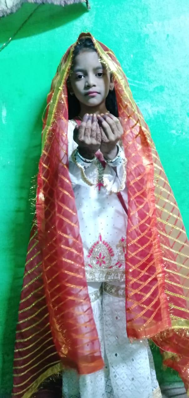 Photo of लाईबा फातेमा ने 5 साल की उम्र में अपने जीवन का पहला रोजा रखा ,!